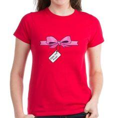 Open Me First Womens T-Shirt