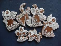 Gingerbread Angel Cookies...  Anioły