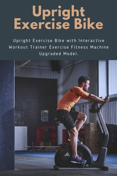 The 10 Best Upright Exercise Bike - 2020 Upright Exercise Bike, Upright Bike, Workout Machines, Fun Workouts, Fitness