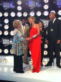 2011 VMAs, or when Blue Ivy met Cloris Leachman.