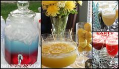 graduation party drinks