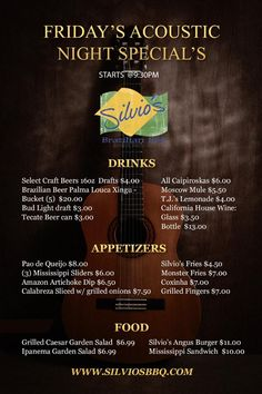 Have you checked our late night specials? Get to @Silviosbbqhb tonight! #Burgers #CraftBeer #Appetizers #Cocktails #HappyHour #Specials #BrazilianFood #Beer #draughtbeer  #HermosaBeach #nightout #nightlife