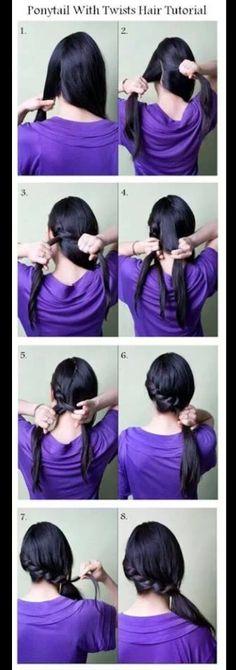 Picturials: Super nemme frisurer med flet - Skønheden og Nørden