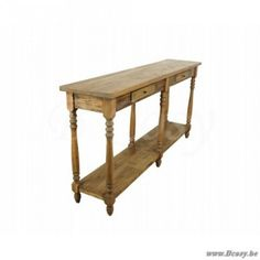 PR Interiors Farmhouse Console in old pin dennehout180