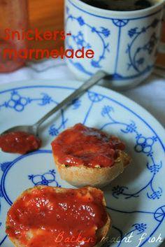 Die Königin der Marmeladen (Snickersmarmelade)