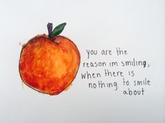 peach // the front bottoms