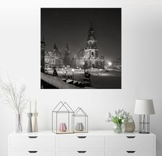 Posterlounge Wandbild »Dresdner Frauenkirche Im Winter« Jetzt Bestellen  Unter: Https://