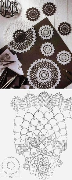 Free Crochet Doily Patterns Crochet Doily 20 Free Pattern 20 Free Crochet Doily Patterns Free Vintage Crochet Pattern Beautiful Star Of Hope Doily Vintage. Filet Crochet, Mandala Au Crochet, Crochet Diy, Crochet Circles, Crochet Doily Patterns, Crochet Diagram, Crochet Chart, Thread Crochet, Crochet Designs