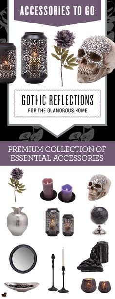 This Gothic Reflections - Accessories To Go box isn't for the faint of heart.