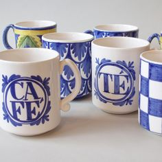 How about a little #blueandwhite for your morning routine?