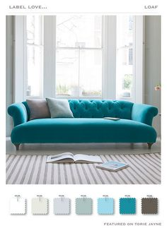 Dixie Sofa: Classic Living Room By Loaf