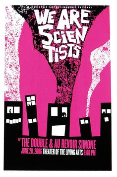 We are Scientists    #music #poster
