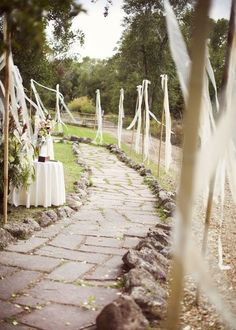 Ribbon Decor For Your Wedding: 61 Ideas | HappyWedd.com