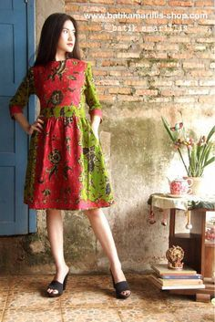 Batik Amarillis's Jolie dress