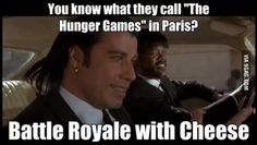 The Hunger Games In French.