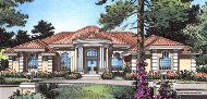 Plan San Simeon House Plan - Direct From The Designers™ Beautiful House Plans, Beautiful Homes, Modern Mediterranean Homes, San Simeon, Arched Windows, Tuscan Style, Spanish Style, Coastal Style, Ceiling Design