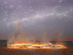 Tim Storrier, Night Sky