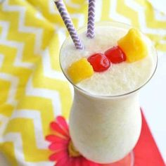 Enjoy the flavors of the tropics at home with this Virgin Pina Colada.  Only three ingredients and a few minutes until you can be sipping, relaxing, and pretending you're on vacation!   Who feels like they sometimes just need a vacation?  I mean, I love my children, every single one of them.  But by the end...Read More