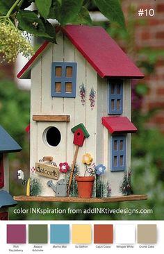 Bird House Kits Make Great Bird Houses Bird Houses Painted, Bird Houses Diy, Birdhouse Designs, Birdhouse Ideas, Rustic Birdhouses, Bird House Kits, Bird Aviary, Kinds Of Birds, Cute Birds