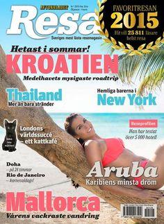 Nya numret av tidningen Resa, med allt om Favoritresan 2015, finns i butik 28 januari – 4 mars 2015.