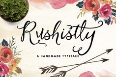 Rushistly Script-40%Off by Graphic Box on Creative Market