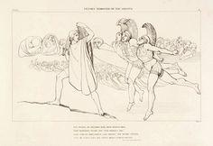 """L'Ade """"... un infinito popol di spirticon frastuono immenso si radunava..."""" Libro XI ( 745-747)"""