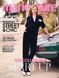 Анна Вьялицына на обложке Marie Claire Italia (Интернет-журнал ETODAY)