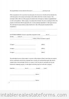 forfeiture notice template - free counter offer printable real estate forms printable