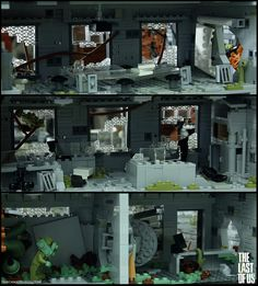 This guy builds gaming Lego sets from games like The Last Of Us Overwatch and Starcraft. (Link is last of us gallery)
