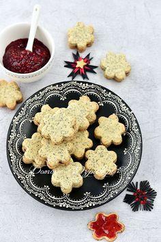Ciasteczka makowe Shortbread, No Bake Cookies, Baking Cookies, Polish Recipes, Scones, Butter, Cake, Desserts, Christmas