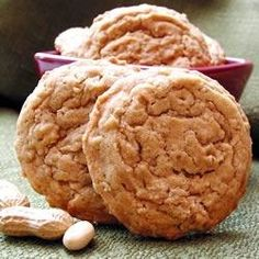 """Oatmeal Peanut Butter Cookies I """"Soooo Soft and Chewy! This was a perfectly soft, not-overly sweet peanut butter cookie."""""""