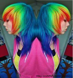 Flip these colors by ScruffyFluffy.deviantart.com on @deviantART