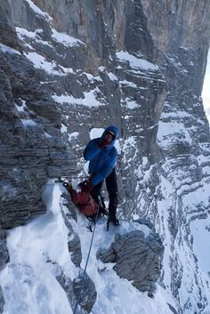 UKC Articles - North Face of the Eiger - 1938 Route  Free Topo