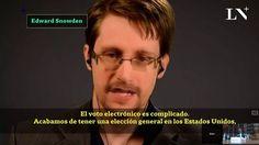 Edward Snowden sobre el voto electrónico