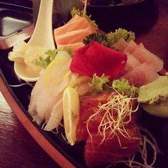 사시미 진짜 너무너무 좋당 #sashimi#tuna#salmon #kingfish#tataki#bestever by choeun1215