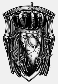 Lion King by Bullet Bacalzo, via Behance