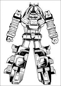 Imagens para pintar dos Power Rangers - 3