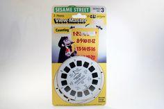 Vintage Toys View Master Reels Sesame Street by DoorCountyVintage, $7.50