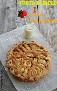 acqua e farina-sississima: torta di mele e crema frangipane