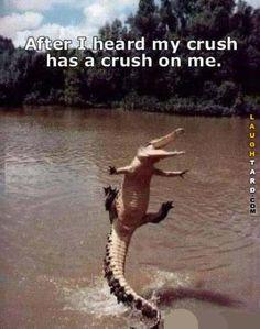 My crush has a crush on me