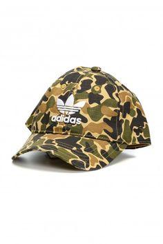 Sapca Camouflage Baseball Adidas Originals - Adidas Originals - Femei - Branduri Adidas Originals, The Originals, Baseball, Camouflage, Burberry, Michael Kors, Military Camouflage, Camo