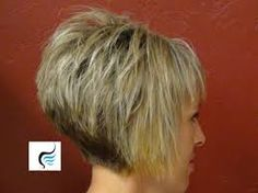 boys and girls haircuts video how to cut stacked wedge with wispy bangs - Google Search