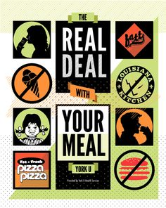 The Real Deal With Your Meal on Behance
