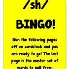 This is a bingo game. All words have the /sh/ digraph in them. Students are taught the vocabulary during the week and then play class bingo on Frid...