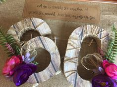 Rustic numbers for birthdays and weddings. Rustic Table Numbers, Burlap Wreath, Birthdays, Wreaths, Weddings, Frame, Happy, Home Decor, Anniversaries