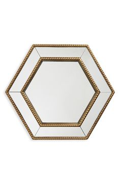 Era Home 'Gold Hexagon' Mirror available at #Nordstrom