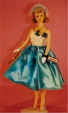 Joshard OOAK make over reproduction Midge doll late 50's ~ 60's look AFKA Joshard Jeff Bouchard
