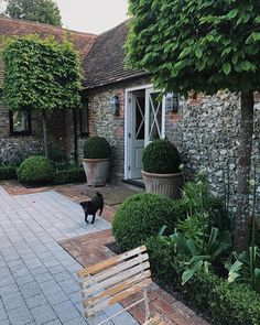 beautiful courtyard garden design ideas you have to see page 38 Back Gardens, Small Gardens, Outdoor Gardens, Courtyard Gardens, Longwood Gardens, Design Jardin, Garden Cottage, Small Garden Design, Garden Care