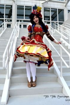 Snow White Steampunk Cosplay