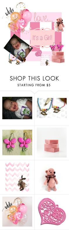 """""""It's a Girl!"""" by igottahaveitnecklace ❤ liked on Polyvore"""